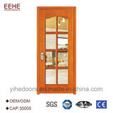 Деревянные панели промышленного дизайна дверей со стеклом