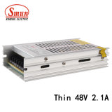 SMB-100-48 100W 48V 2.1A Ultra Léger SMPS d'alimentation en mode de commutation