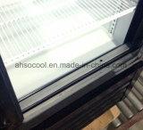 Стильный опускное стекло задней двери / охладителя пива в вертикальном положении в коммерческих целях холодильник для напитков