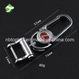 Metal relativo à promoção Keychain do suporte da chave do carro de 360 homens da rotação