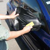 collant de vinyle de fibre du carbone 3D pour la décoration d'enveloppe de véhicule