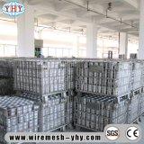 Металлический поддон корзину склад для хранения оцинкованной проволоки контейнеров