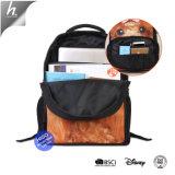 Фламинго напечатано рюкзак рюкзак девочек Bookbag полиэстер школьные сумки