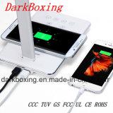 Chargeur sans fil d'iPhone avec la lampe de Tableau de DEL aucun signal d'échantillonnage