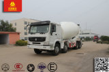 Carro resistente del camión del mezclador concreto de Sinotruk HOWO 8X4