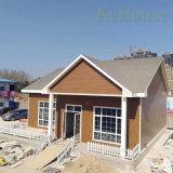 샌드위치 위원회와 강철 단면도를 가진 강철 프레임 휴대용 모듈 별장 Prefabricated 집