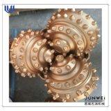 Calor que resiste 10 5/8 dígito binario de rodillo tricónico de IADC537 TCI/el dígito binario de taladro de roca para el taladro de Oil&Gas