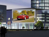 풀 컬러 옥외 큰 전시 LED 영상 벽 P6 P8 P10 P16는 내각 상업 광고 스크린을 방수 처리한다