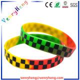 Wristband su ordinazione del silicone del braccialetto di gomma di modo per il regalo