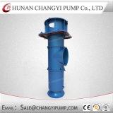 Bomba de água de esgoto misturada centrífuga vertical do fluxo do elevado desempenho