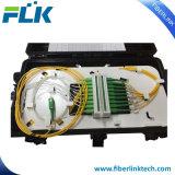 FTTH 2 para fora no fechamento Inline da tala do divisor da fibra 2