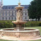 /De Marbre Granit naturel sculpté à la main Fontaine Fontaine de jardin
