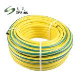 Fibre flexible en plastique PVC flexible d'eau de l'irrigation de jardin tressé