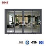 Het Geluiddichte Glas van de Schuifdeuren van het Aluminium van het balkon/van de Keuken