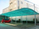 Telhado/Carport ocos da folha do policarbonato para a garagem do carro