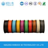 다중 색깔 고품질 1.75mm 3D 인쇄 기계 필라멘트