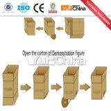 Machine automatique de cachetage de cadre de mastic de colmatage de carton de ruban adhésif à vendre