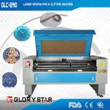 80W 1.2m Laser de corte e máquina de gravura (GLC-1290)