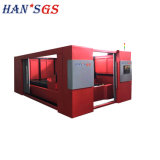 2kw Dual Workingtable High Precision Laser Cutting Machine From Hans GS