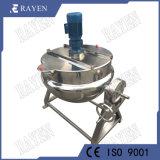 China de acero inoxidable 500L reacción hervidor de agua de cocción hervidor de agua
