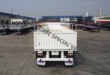 Cimc Chassis van de Aanhangwagen van de Vrachtwagen van de Hoge muur van de Daling van 14.5m de Zij Flatbed Semi
