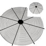 De koel Grill van het Netwerk van de Draad van de Ventilator van de AsStroom met stevig Gelast