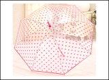 Parapluie transparent bon marché professionnel personnalisé de Xiamen