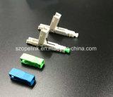 De Optische Snelle die Schakelaar van de vezel voor het Koord van het Flard in Netwerk en Draadloze SC/PC, Sc/APC wordt toegepast