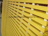 Painel de ralar, PRFV/fibra de vidro moldado GRP gradeamento, ralar, Glassfiber Gritted gradeamento.
