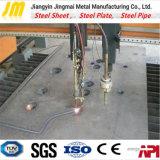 기계는 가공을 형성하는 CNC를 가진 강철 플레이트를 자르는 Laser를 분해한다