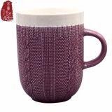 De hete het Verkopen Aangepaste Uitstekende kwaliteit maakte de Ceramische Kop van de Thee in reliëf