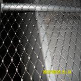 Dekorativer Maschendraht/Edelstahl-Scheibe-Kabel-Seil-Ineinander greifen