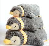 Bonitinha Penguin recheadas de veludo macio de algodão brinquedos para bebés e crianças