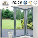 Porte en verre en plastique de la fibre de verre bon marché personnalisée par usine UPVC des prix d'usine de la Chine avec le gril à l'intérieur