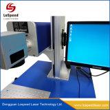30W 50W de Laser die van Co2 de Machine van de Druk van de Gravure voor Leer en Plastiek merken
