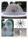 Nueva fuente del diente de león de la bola de Decoratiove del cuadrado de la plaza del diseño de Fenlin