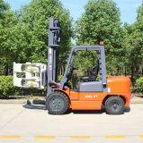 Diesel van 3.0 Ton Vorkheftruck met de Klem van het Broodje van /Paper van de Gehechtheid van de Vorkheftruck