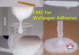 Celulosa carboximetil CMC de sodio para los pegamentos del pegamento del papel pintado