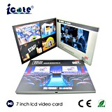 7.0 '' LCD verkünden videodas blättchen-Broschüre für Katalog-Förderung mit 800*480px