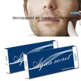 Remplissage cutané injectable d'acide hyaluronique anti-vieillissement secret d'Aqua