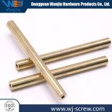 Custom no estándar 10mmx115mm Brass convirtieron los pasadores de piezas metálicas paralelas