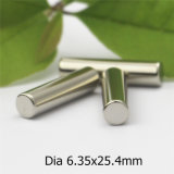 シリンダーパーマは磁石のニッケルのコーティングをカスタマイズする