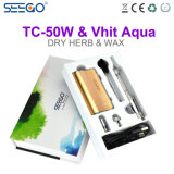 Elegant Futuristisch Ontwerp Seego Vhit Aqua & tc-50W de Recentste ModelSigaret van E