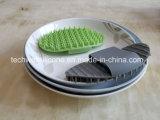 Губка тарелки силикона чистки кухни моя