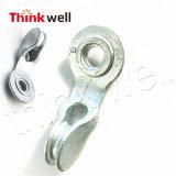 Polelineのための造られた鋼鉄単一繊維斜めアイレット