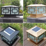 El patio de luz solar Balizas solares de la luz de exterior Lámpara de pie
