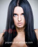 Extension de cheveux brésiliens de couleur naturelle l'usine (PPG-L-0139)