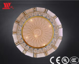 Кристаллический потолочное освещение с кристаллом и украшением стекла искусствоа