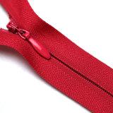 As vendas quentes 3# fecham o Zipper invisível da extremidade para o vestuário