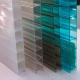 Blad van het Polycarbonaat van de Muur van Lexan het Flexibele Tweeling Holle voor Decoratie